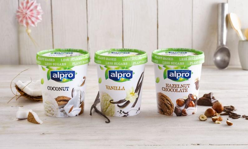 Alpro launches range of vegan ice-cream