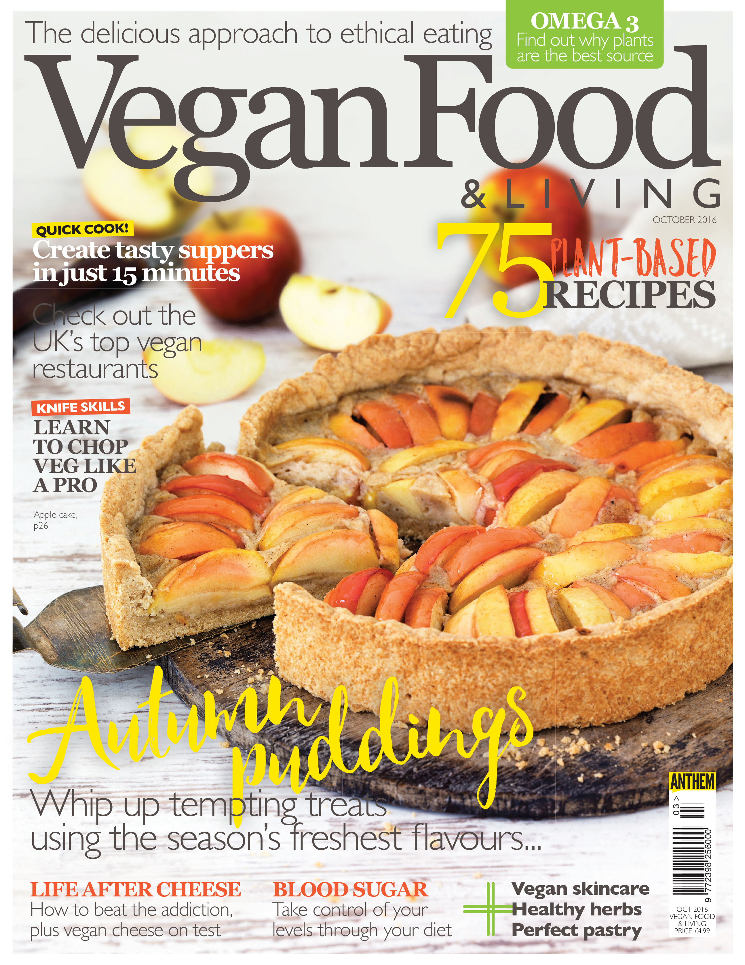 Vegan Food Living October On Now
