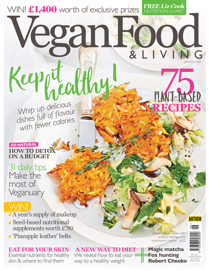 Vegan Food Living January 2017 Is On Sale Now