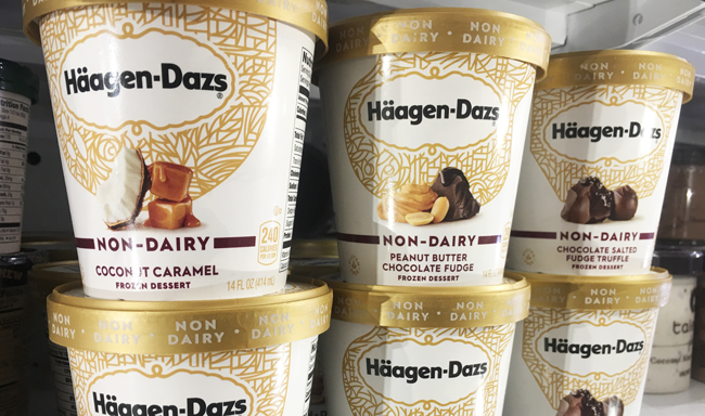 Häagen-Dazs launches four vegan ice-cream flavours in the US