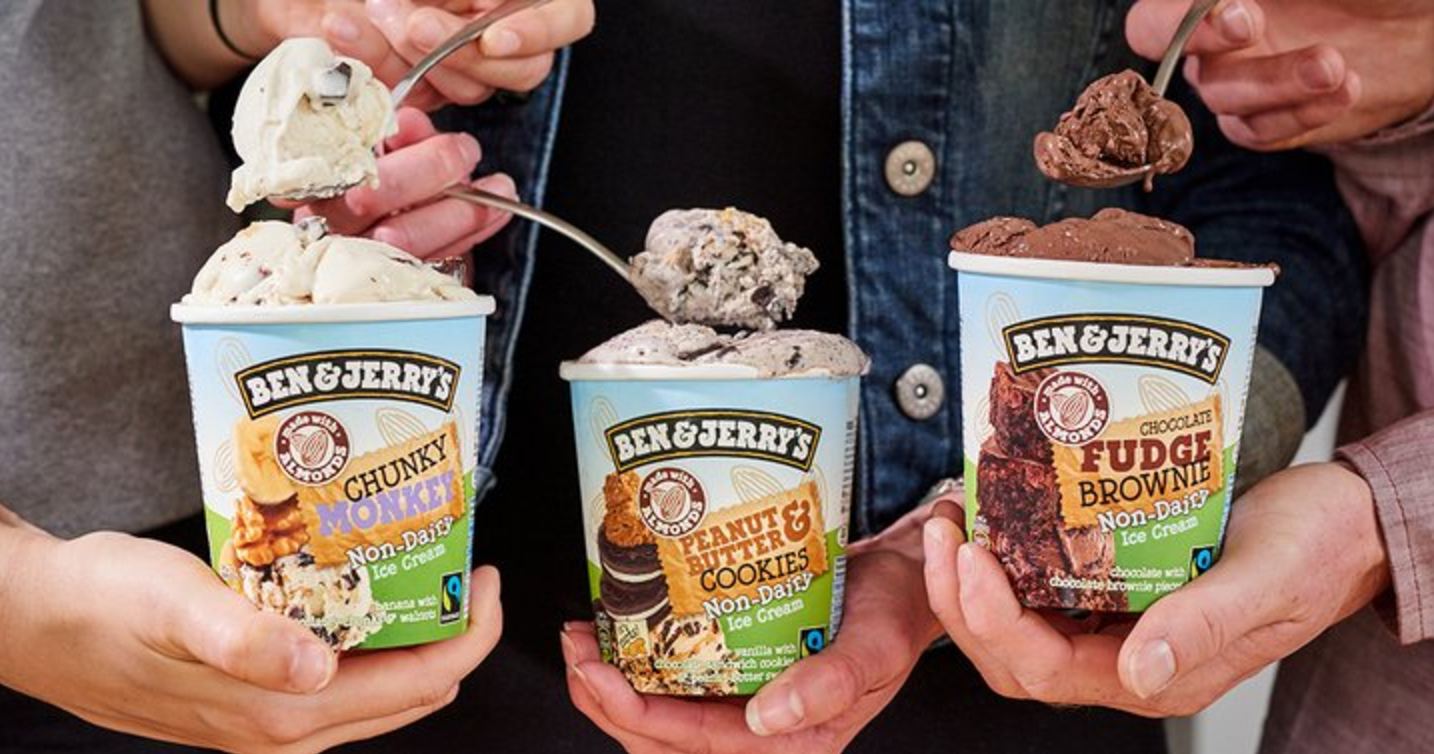 BREAKING: Ben & Jerry's is officially available in the UK now!