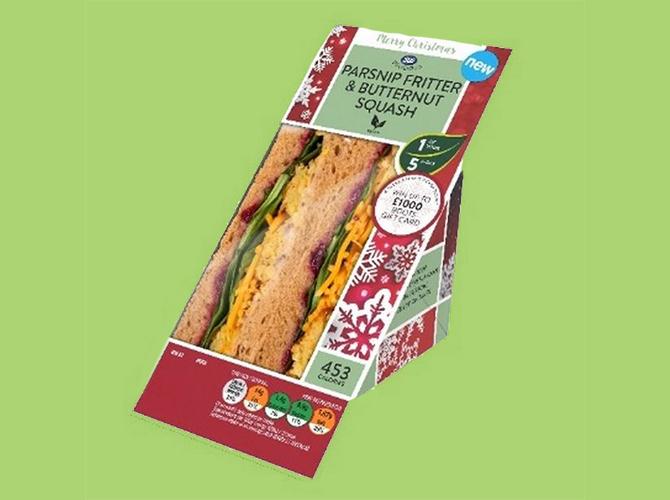 Boots release vegan Christmas sandwich as part of new festive range