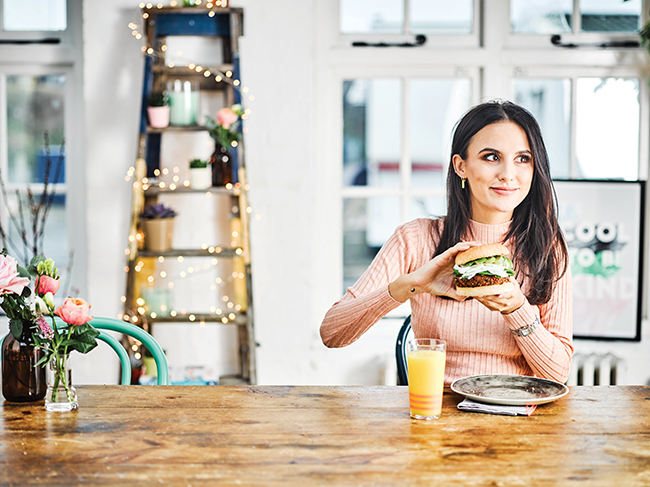 In the kitchen with 'Made in Chelsea' star Lucy Watson
