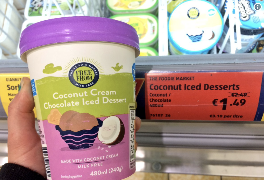 Aldi Release Two Affordable Vegan Ice Creams
