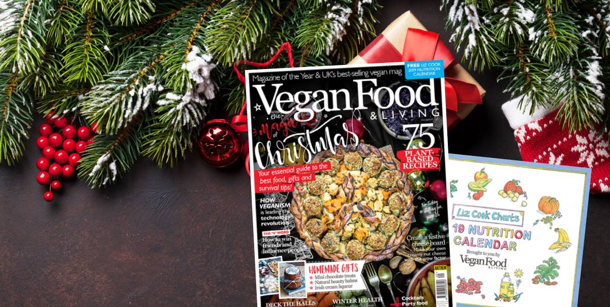 Day 12 Win A 1 Year Subscription To Vegan Food Living