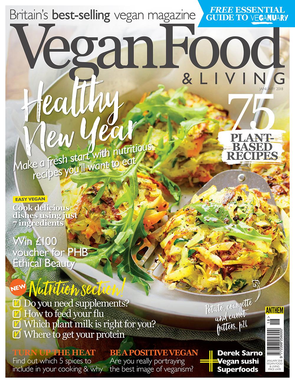 Vegan Food & Living January 2018