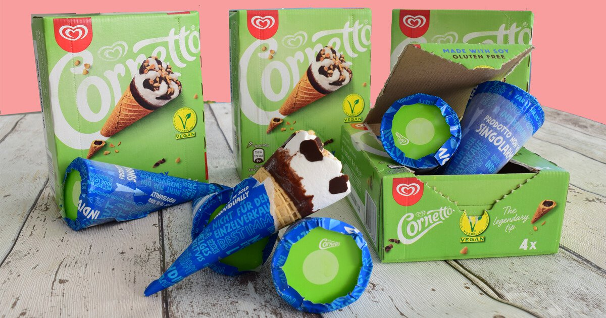 vegan cornetto uk
