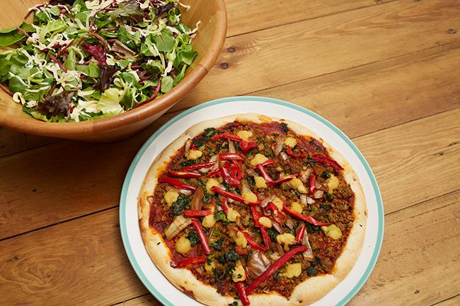 Goodfella's vegan pizza