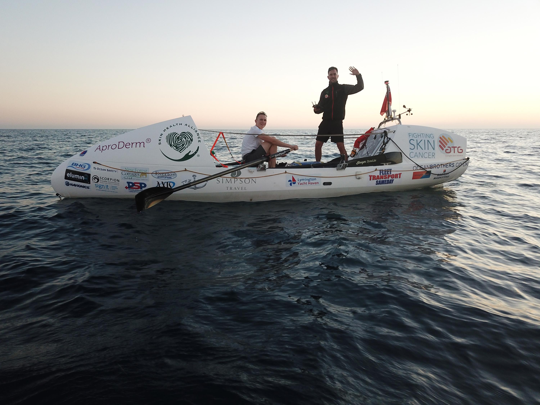 vegan brothers row atlantic