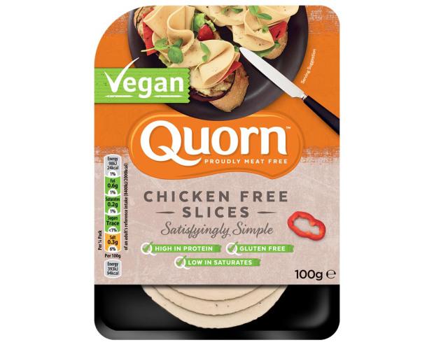quorn vegan slices