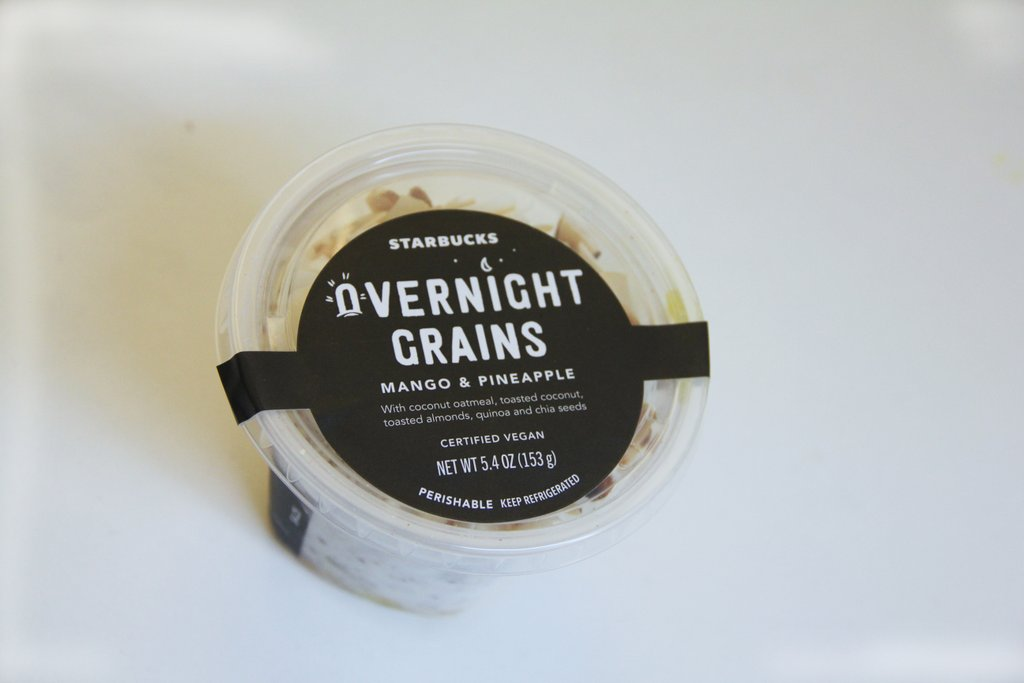 starbucks vegan breakfast