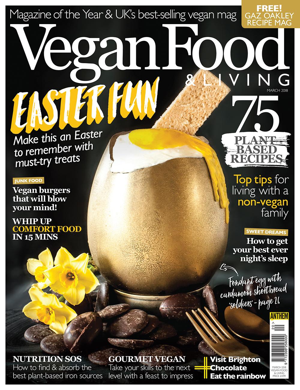 Vegan Food & Living March 2018