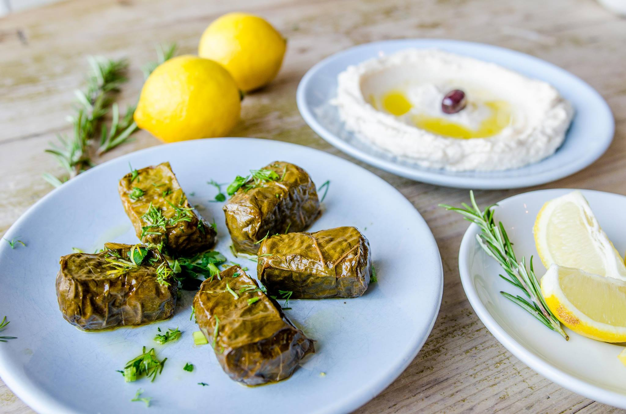 The Real Greek is launching a vegan menu across 15 of its