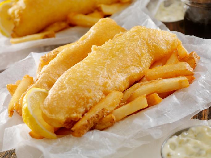 vegan fish 'n' chips devon