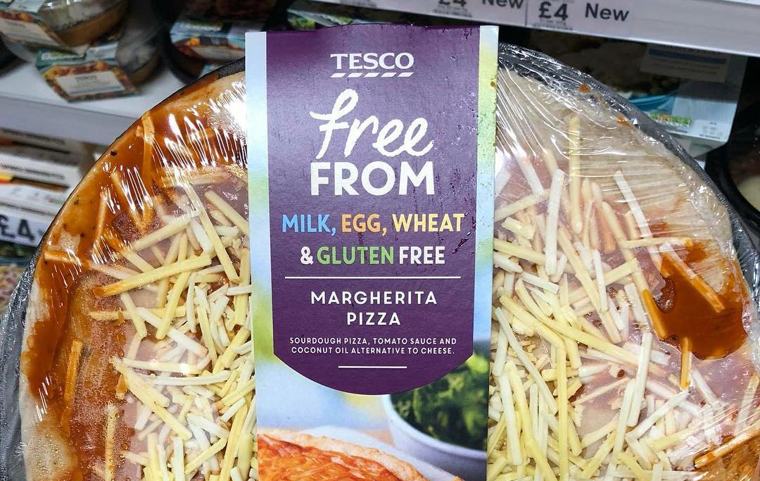 Tesco Releases A Vegan Margherita Pizza In Its Own Brand Range
