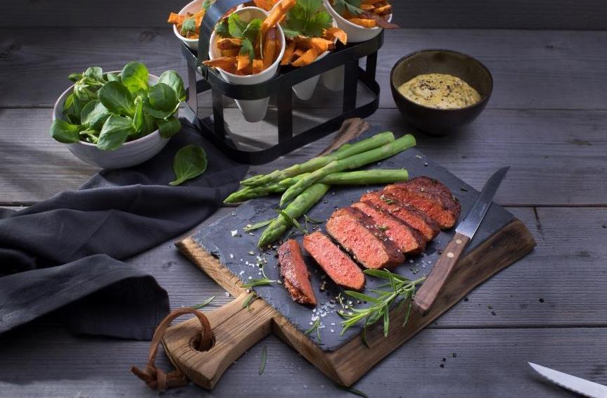 tesco vegan steak