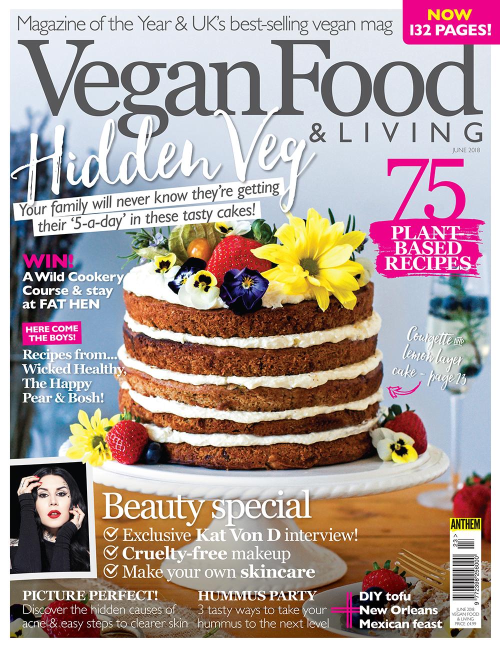Vegan Food & Living June 2018