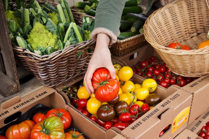 zero waste vegan market in london