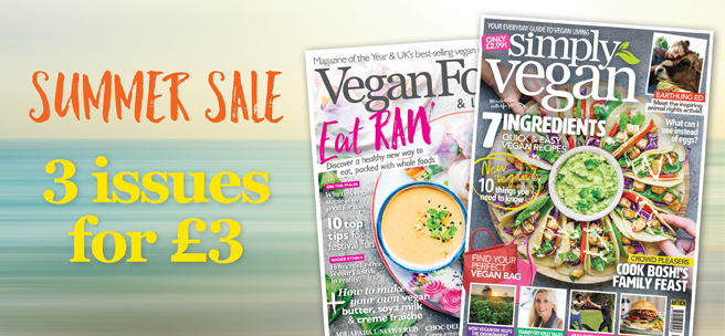 vegan food & living summer sale