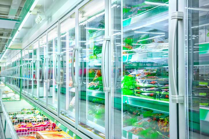 iceland vegan frozen aisle