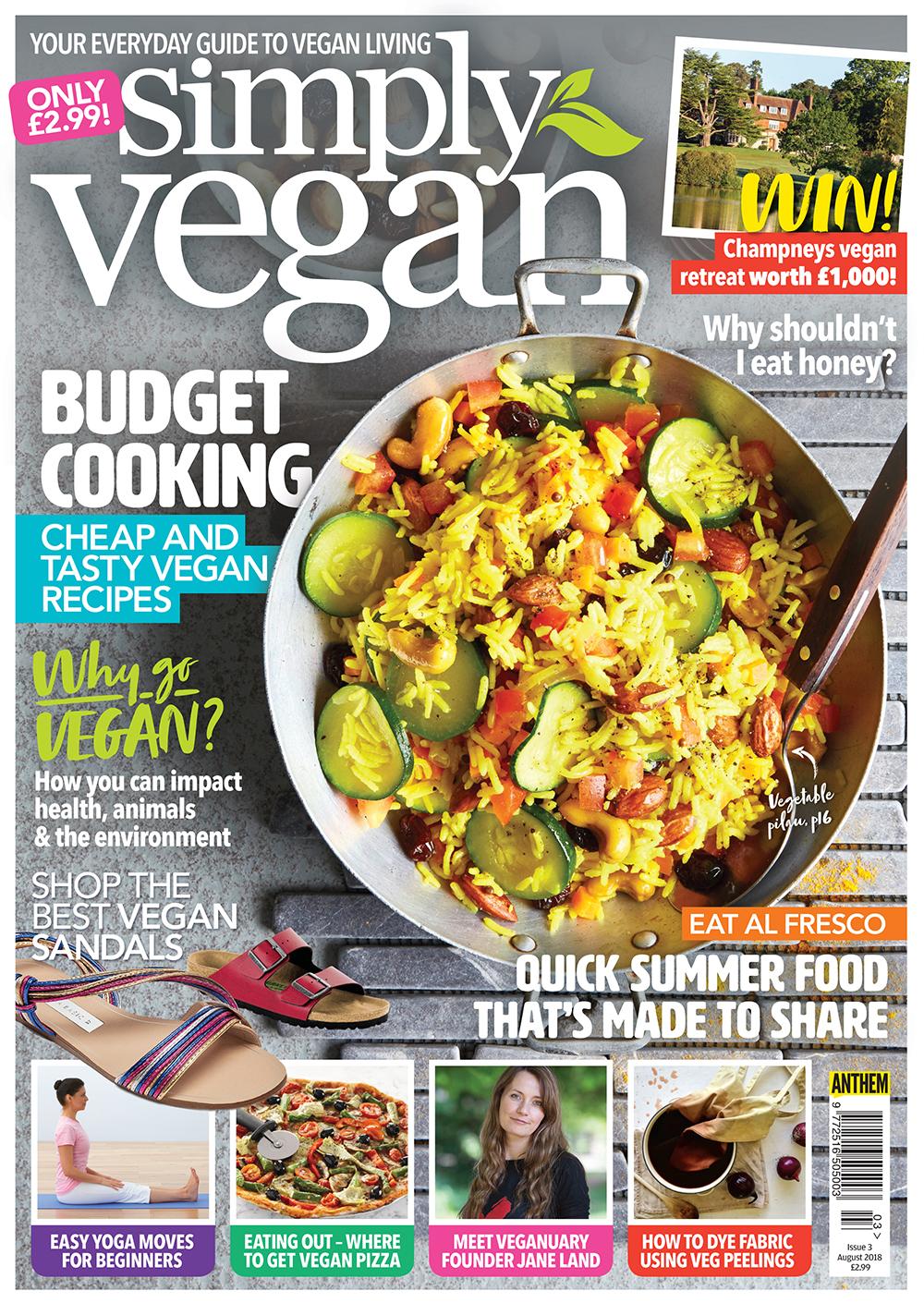 Simply Vegan August 2018