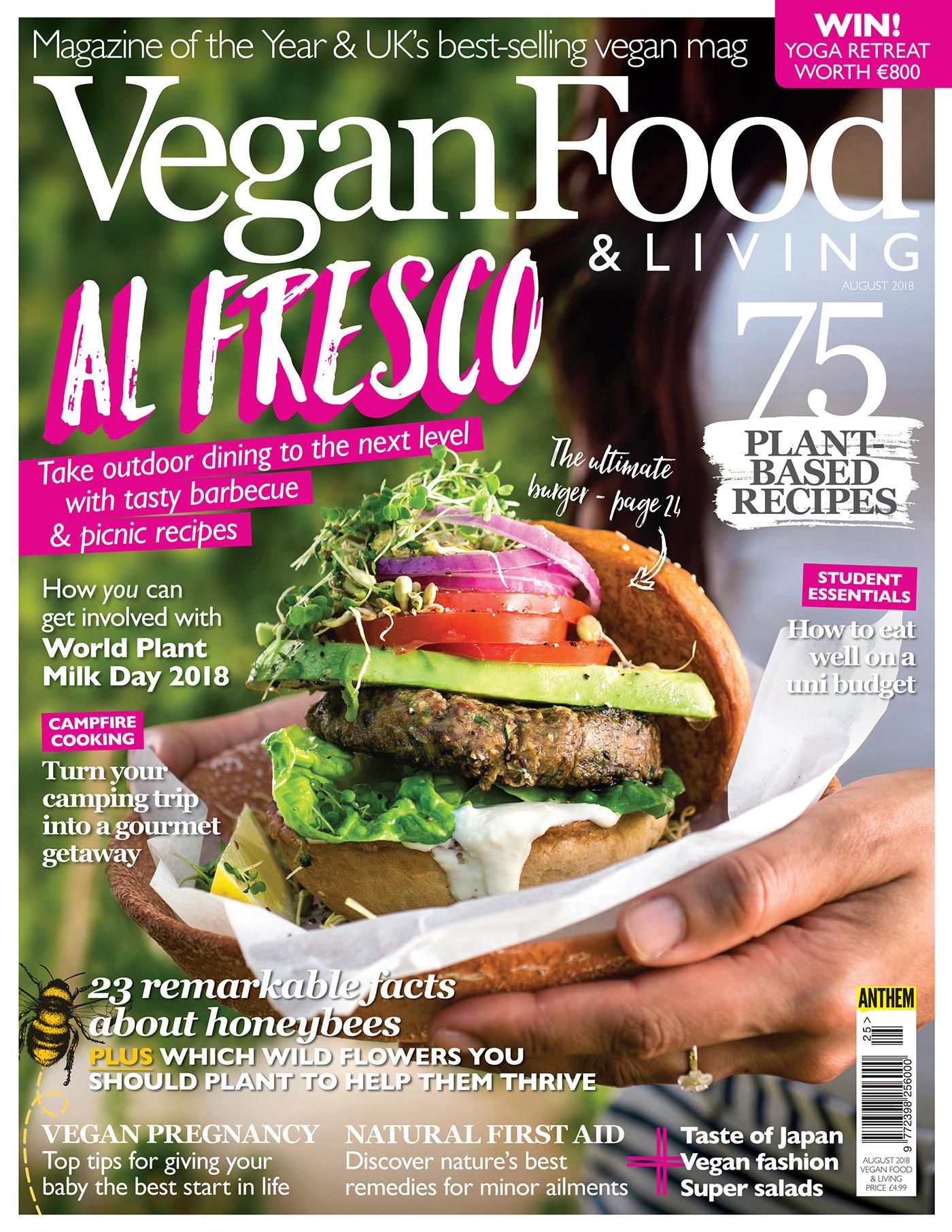 Vegan Food & Living August 2018