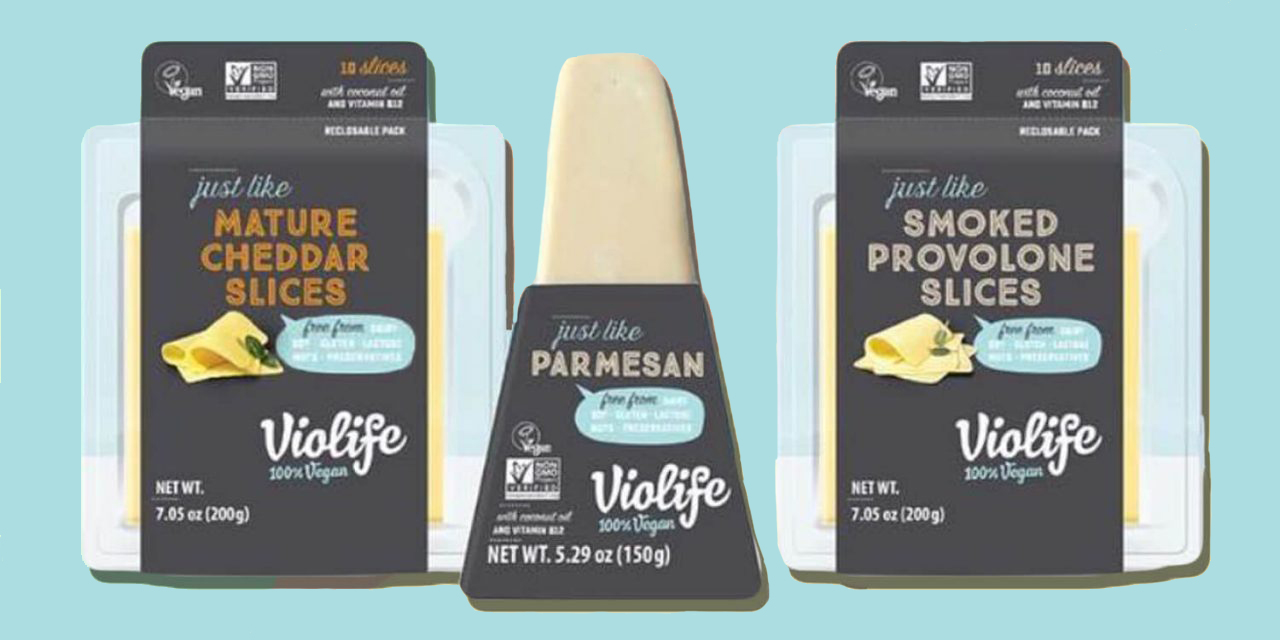 Violife launches 3 vegan cheeses into the US market