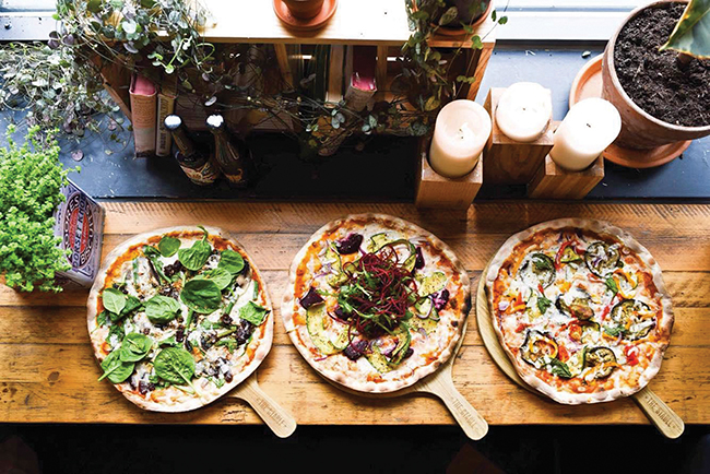 vegan pizza restaurant uk