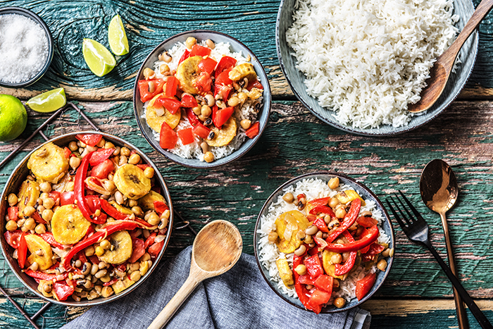 Vegan plantain curry recipe