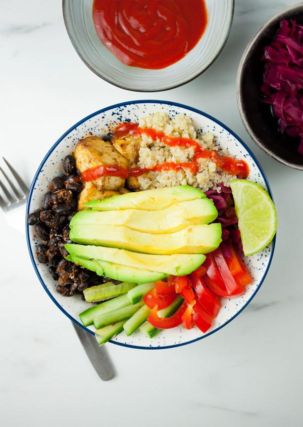 protein Buddha bowl