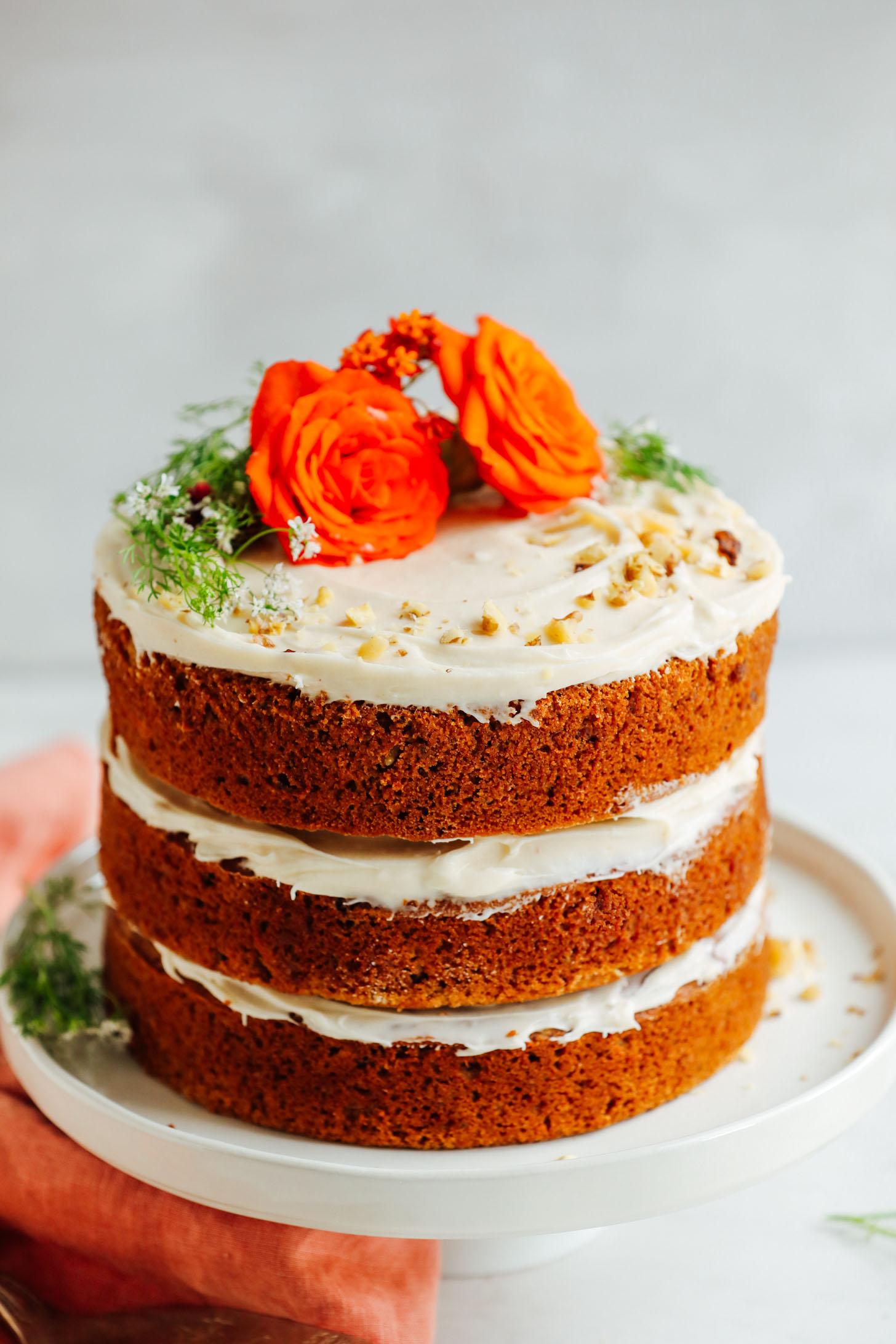 Best Vegan Vanilla Cake Recipe Ever