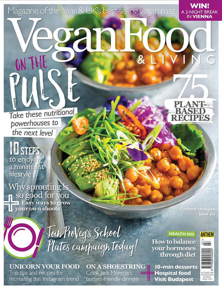 Vegan Food & Living October 2018