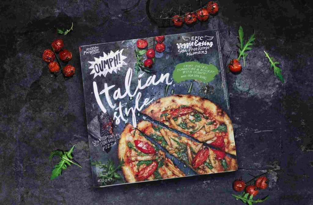 Oumph To Launch Cheesy Plant Based Pizza In Tesco