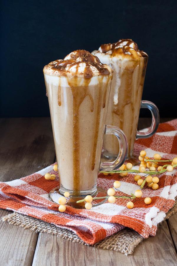 pumpkin spice hot drink