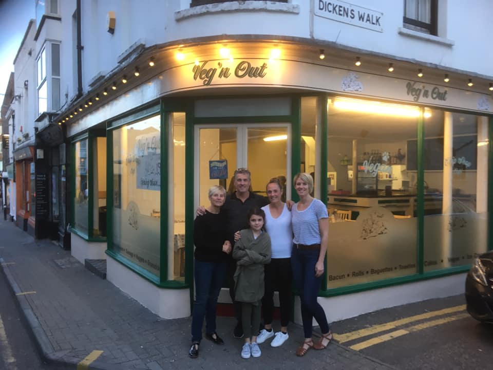 vegan fish and chip shop in kent