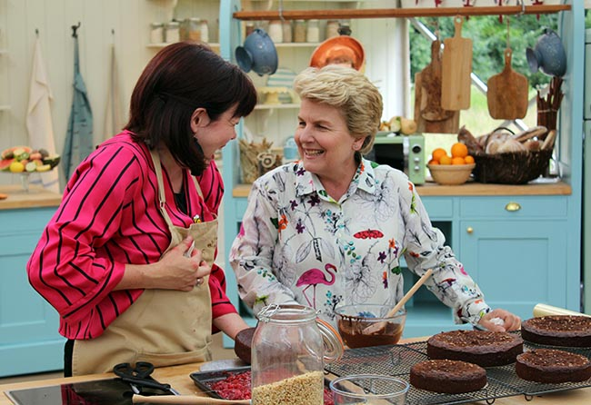 great british bake off vegan week