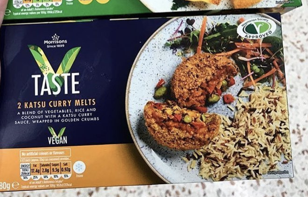 Morrisons Supermarket Launches Vegan Katsu Curry Ready Meal