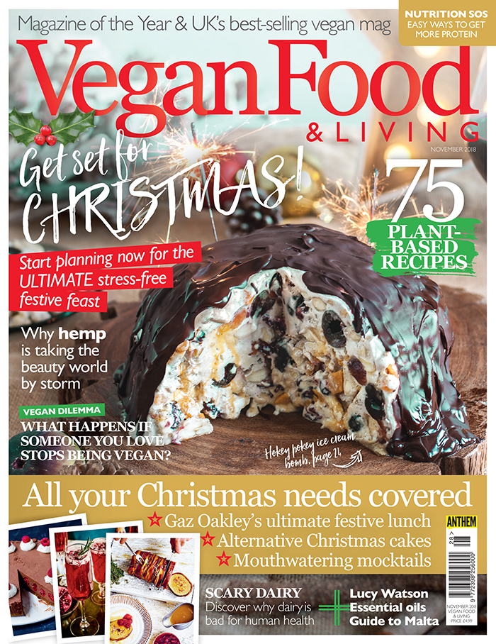 Vegan Food & Living November 2018