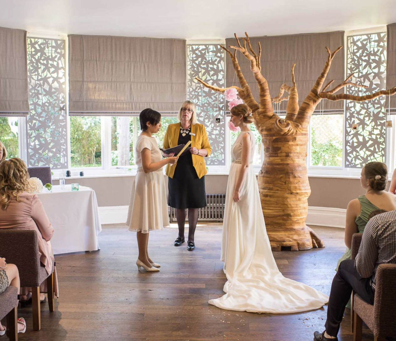 green house hotel vegan wedding package