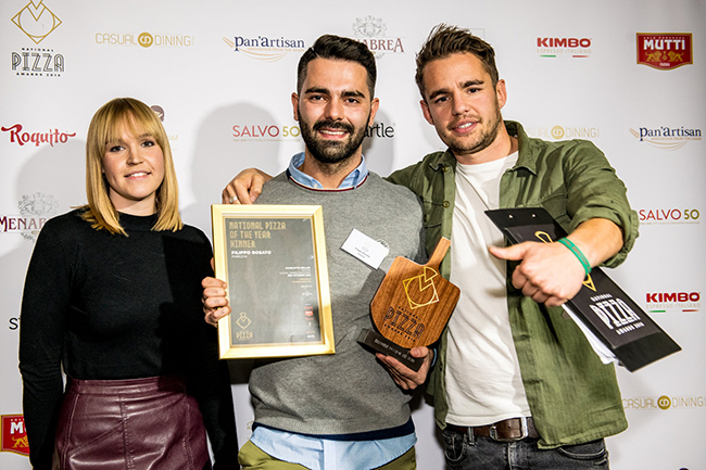 purezza win national pizza of the year