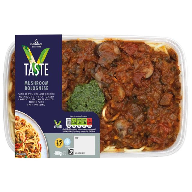 Morrisons Supermarket Launches Vegan Ready Meal Range