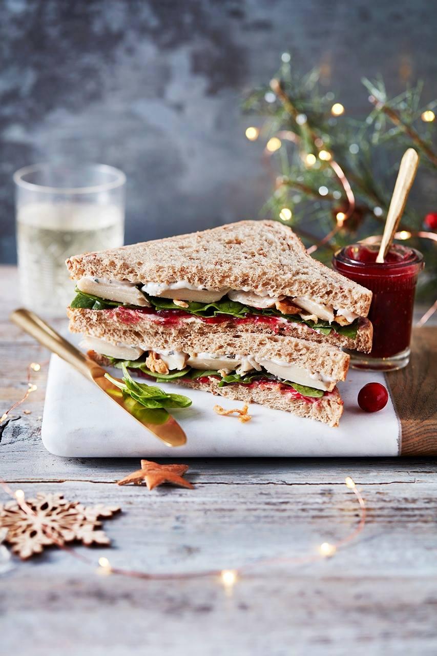 marks & spencer vegan turkey sandwich