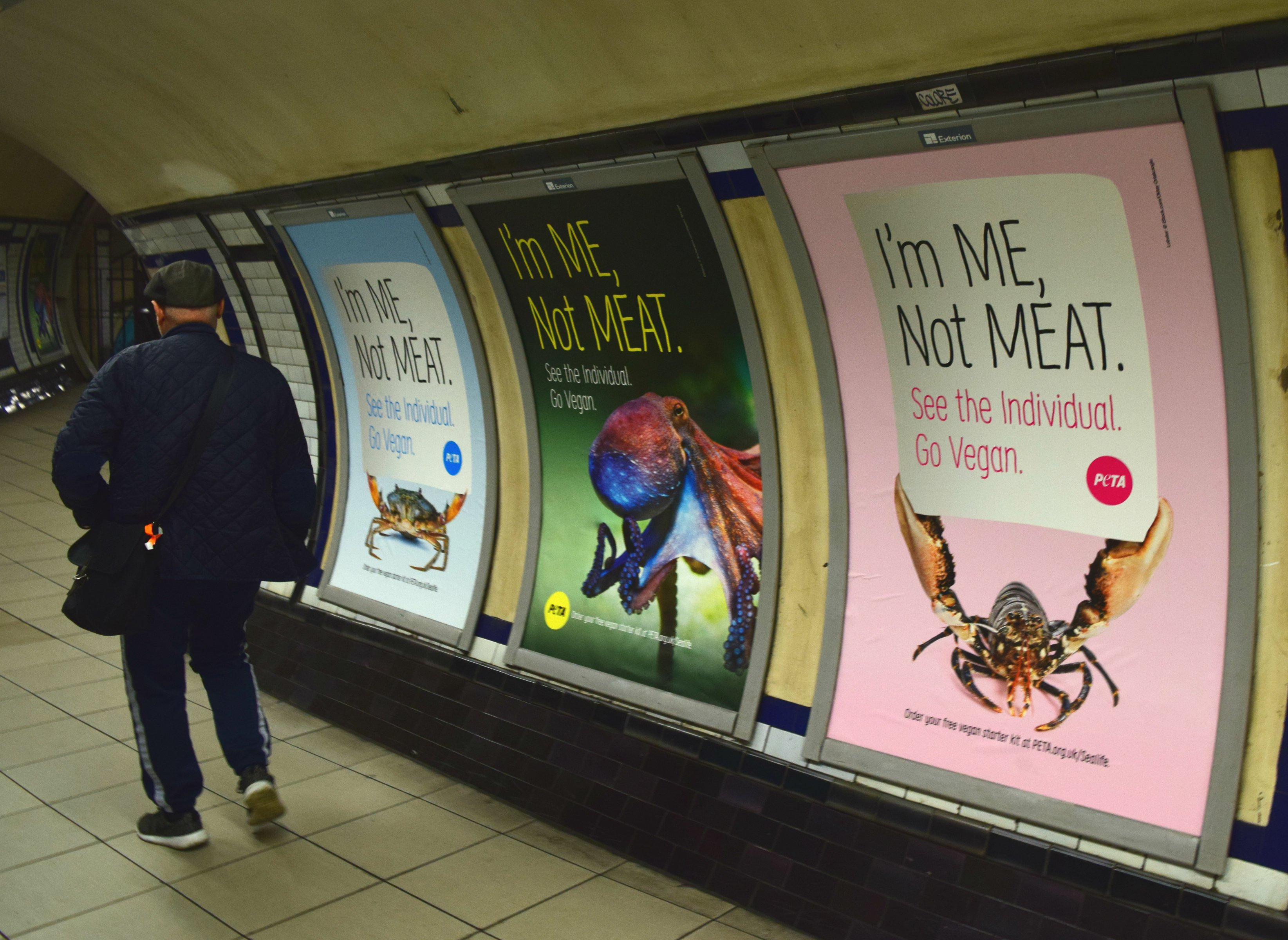 peta clapham common posters