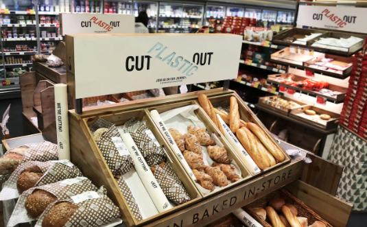 plastic-free supermarket london