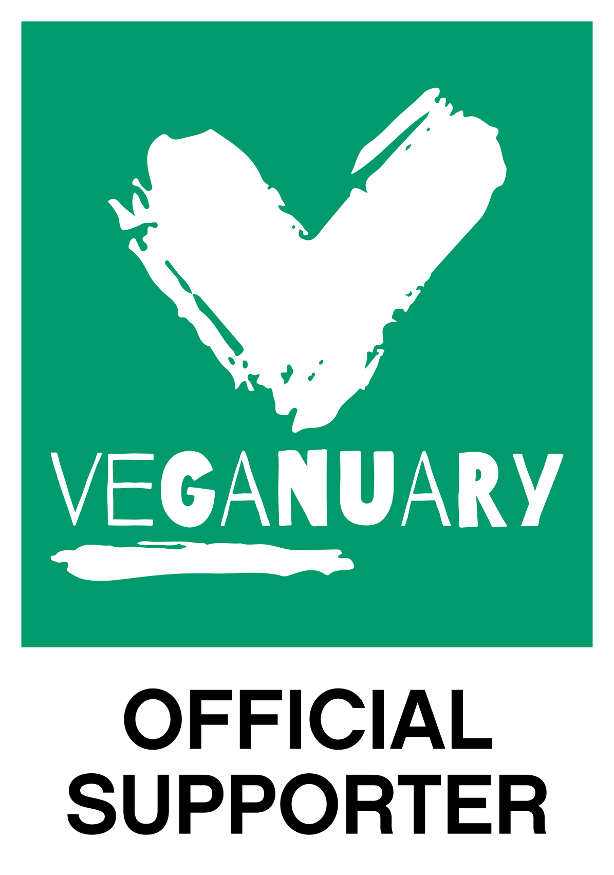 veganuary Official Support Badge 6