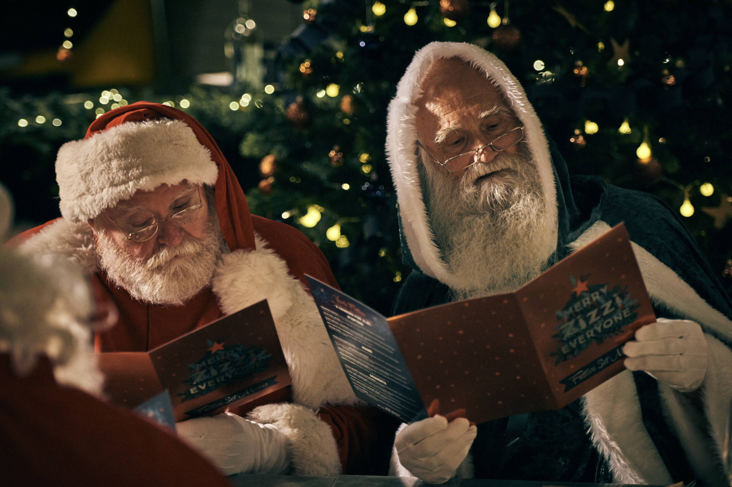 zizzi vegan santa advert