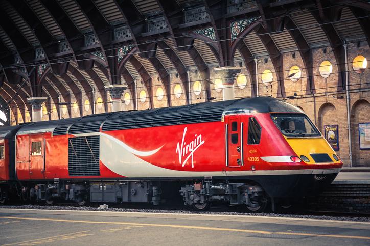 virgin trains vegan menu