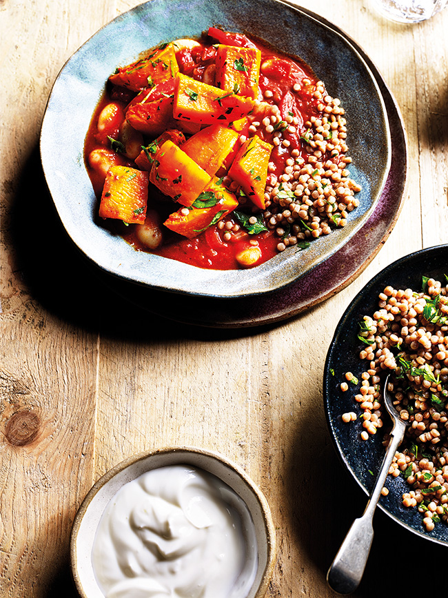 vegan squash stew recipe