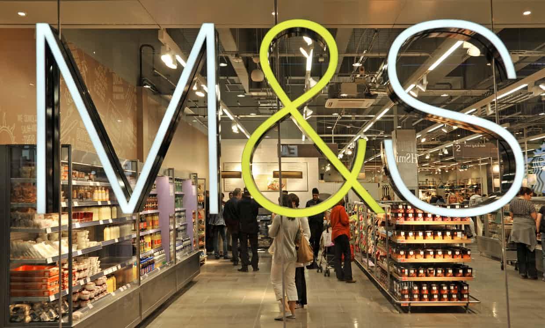 Marks & Spencer vegan labelling