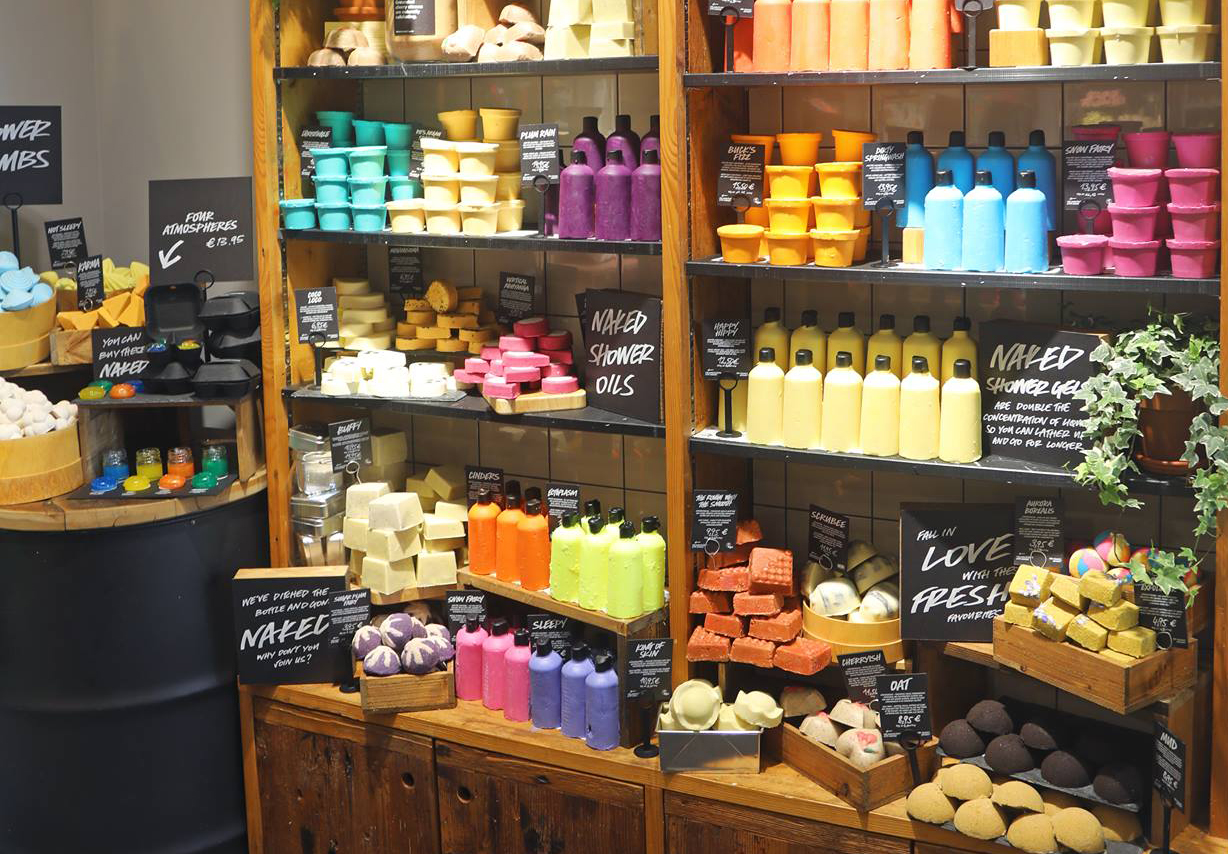 Lush Cosmetics to open a plastic-packaging free 'naked' store in the UK